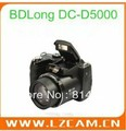 "Free shipping 16M CCD digital camera with 21X optical zoom and 3.0""color LCD BDLong DC-D5000"