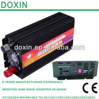 Power Inverter DC12V to AC220V Adapter Converter 2500Watt (50Hz)