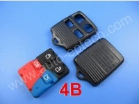 30pcs/lot Brand New 4 button Ford remote fob case,car remote control key shell cover for Ford