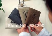 B344 romantic Paris memory linen men's and women's card bag/card sleeve 20 jockey for position Free Shipping