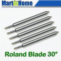 New 10PCS/lot Roland Blade 30 Degree Vinyl Cutter Plotter Free Shipping #SM481 @CF
