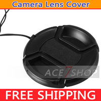 52mm Camera lens cap cover with rope general For NIKON D3100 D40 D5100 D60,Suitable for All 52mm Digital SLR Camera