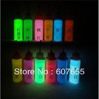 36pcs/lot UV pen-- Invisible pen / DIY hand-painted luminous T-shirt children's creative graffiti pen 15 ml free shipping