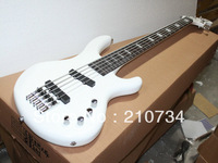 Wholesale -White 5 string classical electric bass, high brand free shipping