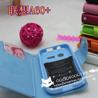 For Lenovo a60+ cell phone wallet protective case after holsteins outerwear shell protective case