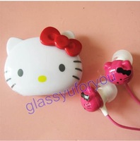 2GB red Hello Kitty Mini MP3 Player + Free Hotpink Hello Kitty Headset