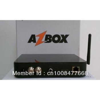 az box bravissimo twin tuner  free shipping DHL 20pcs - hd nagra 3 decoder IKS SKS service free