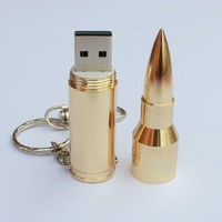 Bullet style,16G Usb flash drive with keychain.Innovative gift usb disk,charming usb flash memory,good quality.Free shipping