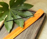 Natural Wooden Pine Wood Incense Stick Holder Burner NEW Gift