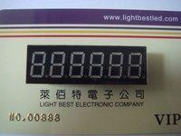 0.36inch six digital display 6 digital 7 segment display Blue Color  LBT3661BB Common Anode