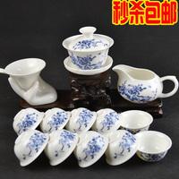 Free shipping Ceramic set kung fu tea set fashion gift tea cup