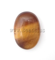 Free Shipping!!! 50PCs/Lot Fashion oval Natural Tiger Eye Flat back Cabochons 13x18x5mm for Jewelry & Mobilephone Decoration