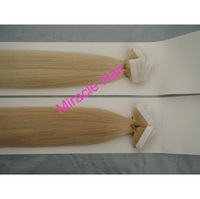 18'' 18inch  #22 Light  Ash Blond Color PU Tape Hair Glue Skin Weft Human Hair Extensions Indian Remy 2g/pc 100g/50pieces/lot