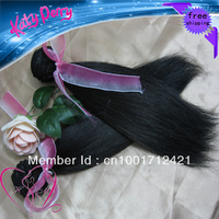 "10""-28"",free shipping,100% virgin brazilian human hair extension ,remy hair,natural straight,10pcs/lot,1b (95-105g/pc)"