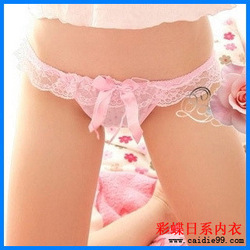 Mix order $15 women&#39;s clothing sexy panties female lace patchwork ladies&#39; briefs women&#39;s mini underwear sexy G-String / T-Back(China (Mainland))