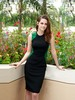 2013 spring&amp;summer, The twilight saga Kristen same style SEXY bodycon sleeveless dress