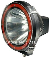 "7"" 9-32V 55W 4000LM hid driving light/off road truck Boat fog lamp/hid xenon work light"