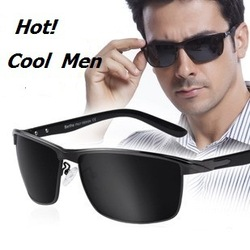 Hot Cool! new Men&#39;s fashion Brand Coating military Imported polarized UV protection sunglasses for male driver free shipping(China (Mainland))