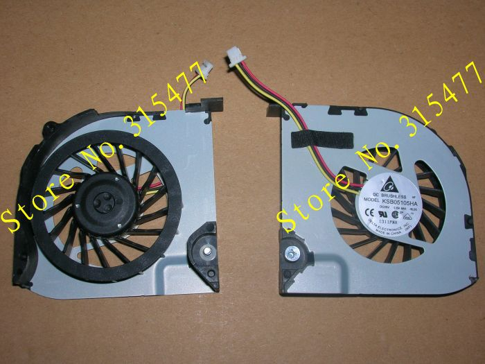 Free shipping new laptop cooling fan for HP Pavilion DM4 DM4-1000 DM4-1100 DM4-1200 DM4-1300 (DELTA KSB05105HA-9L05)(China (Mainland))