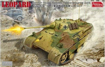 Amusing Hobby model 35A004 1/35 LEOPARD German Heavy Armored Reconnaissance Tank plastic model kit