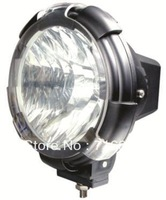 "9-32V 35W 7"" 3200LM with cover HID xenon work light driving light/off road truck Boat fog lamp"