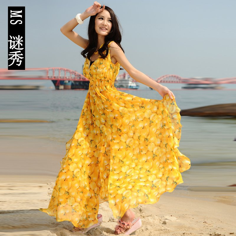 Excellent  Beach Dress For Women  Real Photo Pictures  Exquisite Women39s