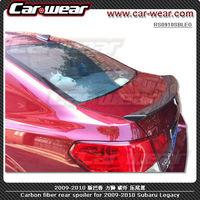 FIT 2009-2014 Subaru Legacy Carbon Fiber Rear Spoiler Trunk Spoiler