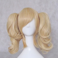 Cosplay wig code geass repair gold roll horseshoers