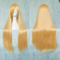 Cosplay wig beige 80cm chaoshun long straight hair general cosplay wig