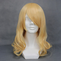 Black cosplay wig high temperature wire wig 064a