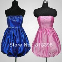 Коктейльное платье NEW DESIGN Prom Ball Gowns Party One Shoulder Mini Cocktail Dress 4 color LF018