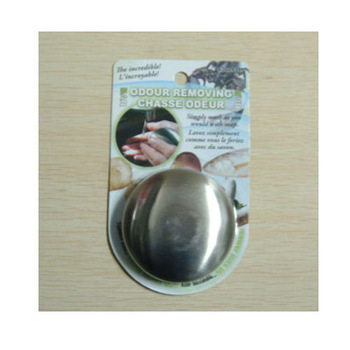 Circle stainless steel soap