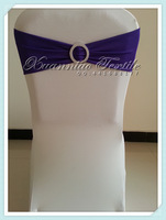 free shipping plum  spandex band for chair decoration