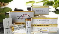 sell 653465 polymer battery, 3.7V,1300mAh, with best price and top quality, it can be rechargeable, it has many applications,