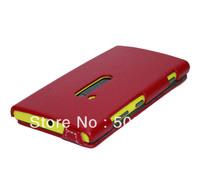 Lychee PU Flip Case Leather Case for Nokia Lumia 920 Free Shipping