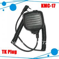 Hot selling wireless 2 way radio speaker mic for TK-3107 TK-3207 TK-3307 TK-2307 TK-2207 TK-2107  (KMC-17)