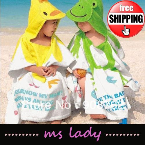 Free shipping new design 60*60CM cartoon beach baby body towel children Blankets Bath towels kids washcloth HK Airmail(China (Mainland))