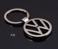 Volkswagen CHROME car standard keyring keychain keyfob VW key chains gift