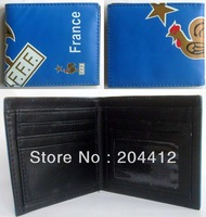 FRANCE NATIONAL SOCCER TEAM HANDBAG PURSE WALLET blue