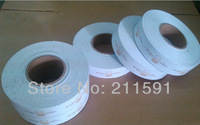 Custom 300gsm Coated Paper Hang Tag Rolls / Clothing Tag Rolls with Both Sides Printing, 20000 pcs/lot