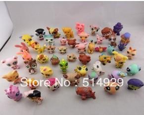 10 pcs/beaucoup. littlest pet shop lps animasl lâche figurines jouets de collection port gratuit pour les enfants