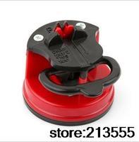 DHL Free Shipping:Creativity +kitchen gadget+tungsten steel sharpener +with sucker +sharpening tools +grindstone