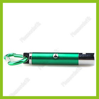 5 in 1 1mw 650nm Projective Red Laser Pointer With 2-LED And Keychain Green Free Shipping