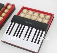 cake pack Black piano 20 chocolate box ( Golden Tigris reprovision)