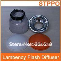 Clear Lambency Flash Diffuser For Canon Nikon Camera