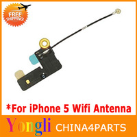 12pcs/lot Original New Wifi Wireless wi-fi Signal Antenna Flex Ribbon Cable For iPhone 5 5G Free Shiping