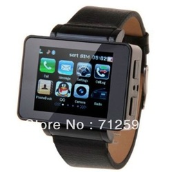 i6 2012hot sale Watch mobilephone, many colors,1.8inch,MP3,MP4 Player, vedio,GPS,Compass,support,Camera,Java support(China (Mainland))