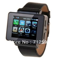 i6  2012hot sale Watch mobilephone, many colors,1.8inch,MP3,MP4 Player, vedio,GPS,Compass,support,Camera,Java support