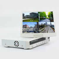 """10.5"""" 8CH HD TFT LCD Screen Monitor H.264 DVR  All In One Combo DVR"""
