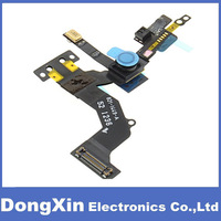 50PCS/lot For iPhone5 5G Proximity Light Sensor with Front Camera Flex Ribbon Cable for iPhone 5 -Soldered